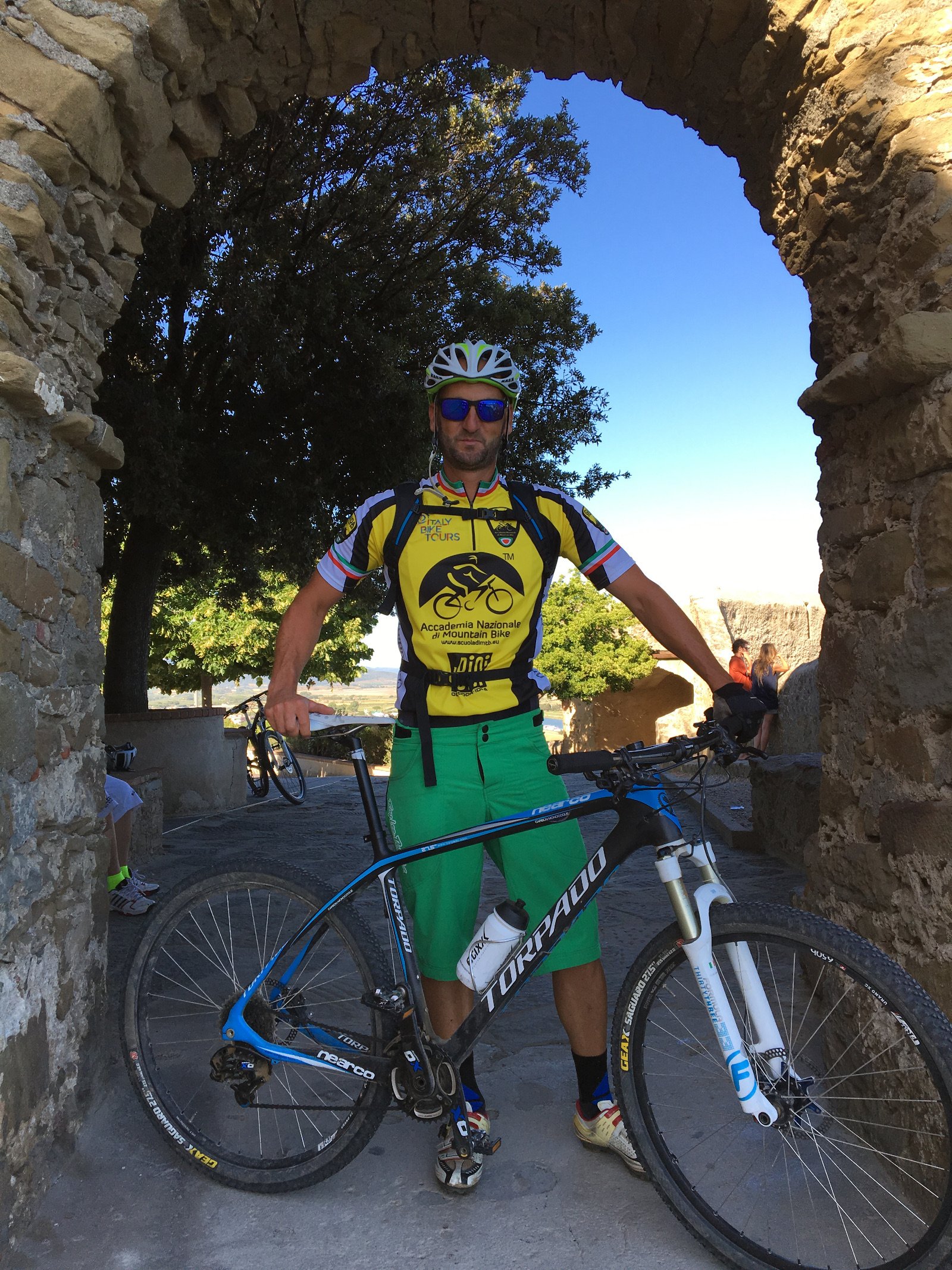 accompagnatore di mountain bike Emiliano Seri